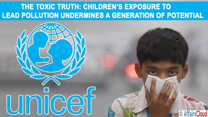 Uit het onderzoek 'The Toxic Truth' blijkt dat 800 miljoen kinderen een loodgehalte van 5 microgram of hoger in hun bloed hebben.